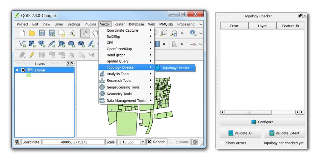 Using QGIS to fix geometry errors - Spatial Modelling Solutions