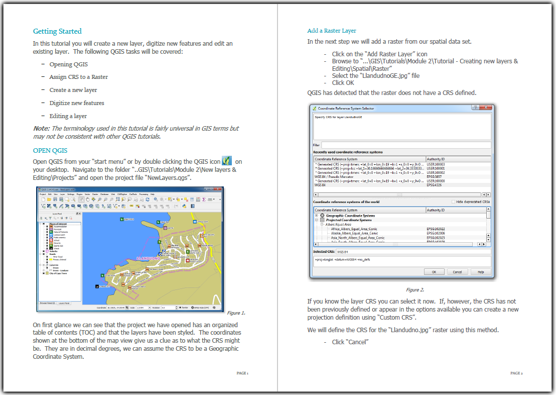 QGIS Tutorial - Coordinate reference systems